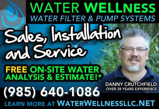 WATER WELLness Filter & Pump LLC - Home